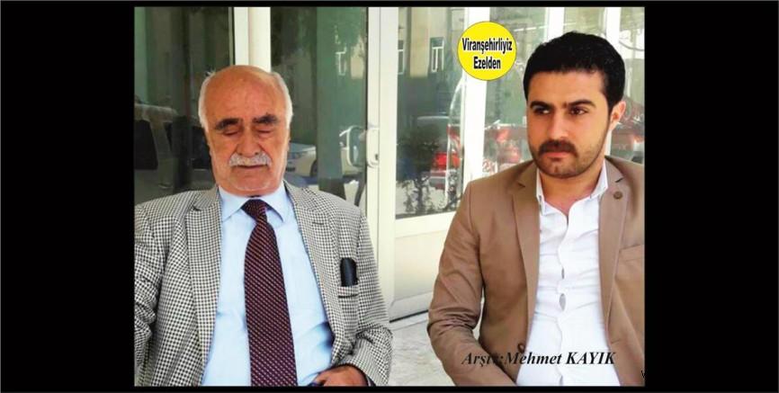 Hemşehrimiz Hacı Hatip Orman ve Yeğeni Şerif Özkan