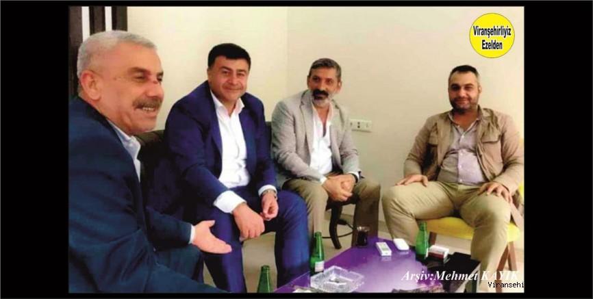 Hemşehrimiz İdris Aslan Şıhanlıoğlu, Cahit Ateş, Rağıp Yazmacı ve Lütfü Şehmusoğlu