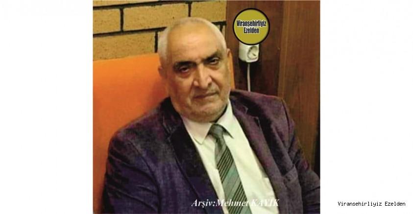 Hemşehrimiz Uzun Yıllar Ankara'da yaşamış, Ankara'da 08 Ekim 2020 Günü Vefat etmiş, Sevilen İnsan Merhum Lütfü Özkan