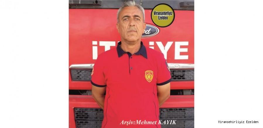 Hemşehrimiz Viranşehir Belediyesi İtfaiye Müdürlüğü Bünyesinde 1991 Yılından beridir Görev yapmış, İsmail Çelik