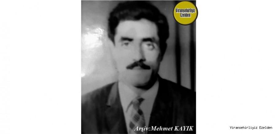 Hemşehrimiz Viranşehir'de İlk Otel İşletmecilerinden olan Merhum Yusuf Güldaş