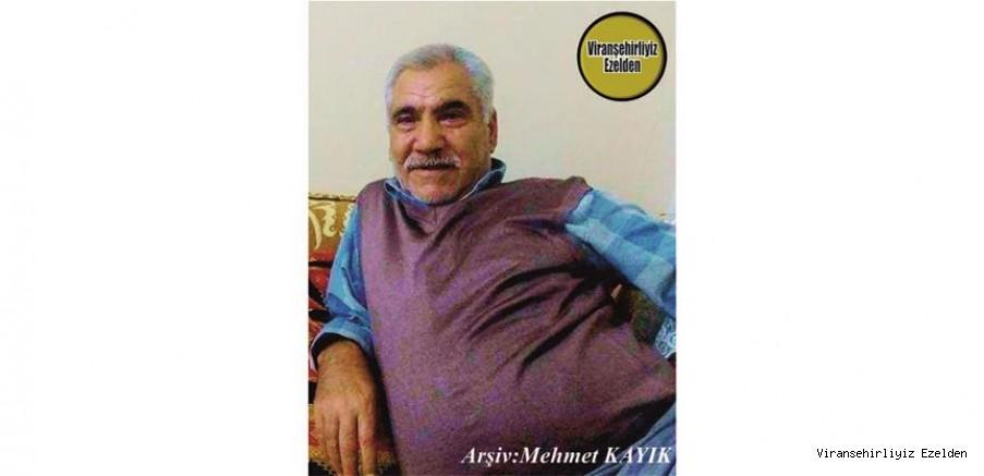 Hemşehrimiz Viranşehir'de Vefat etmiş, Şeyh olarak tanınan, Sevilen İnsan Merhum Mustafa Aslan