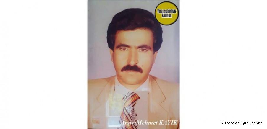 Viranşehir'de Yıllarca Usta Şoför olarak çalışmış, Hêmcan olarak tanınan, Sevilen İnsan Merhum Mehmetcan Öçmek