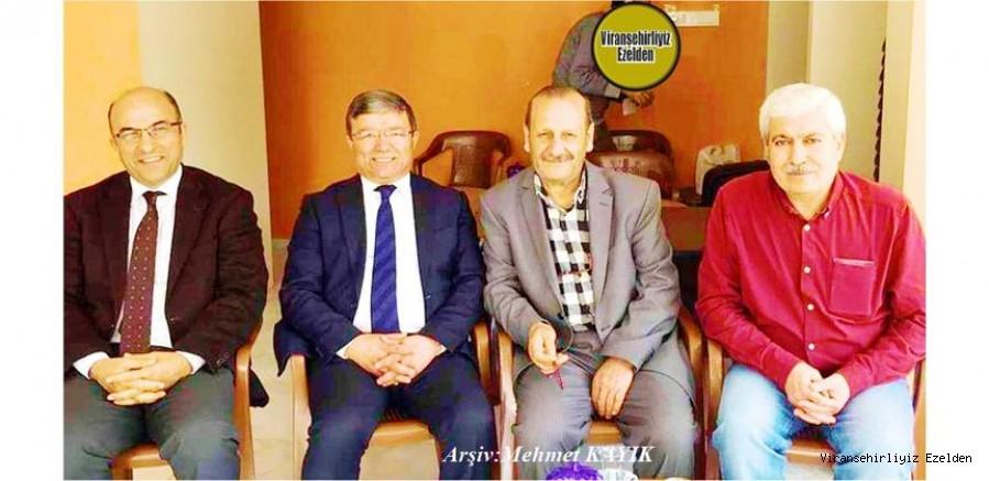 Viranşehir'in Demokrat Değerlerinden Emekli Öğretmen M Fahri Kaya, Avrupa'da yaşayan, Mustafa Kılıç, Seraceddin Kırıcı ve Merhum Feyyaz Bey
