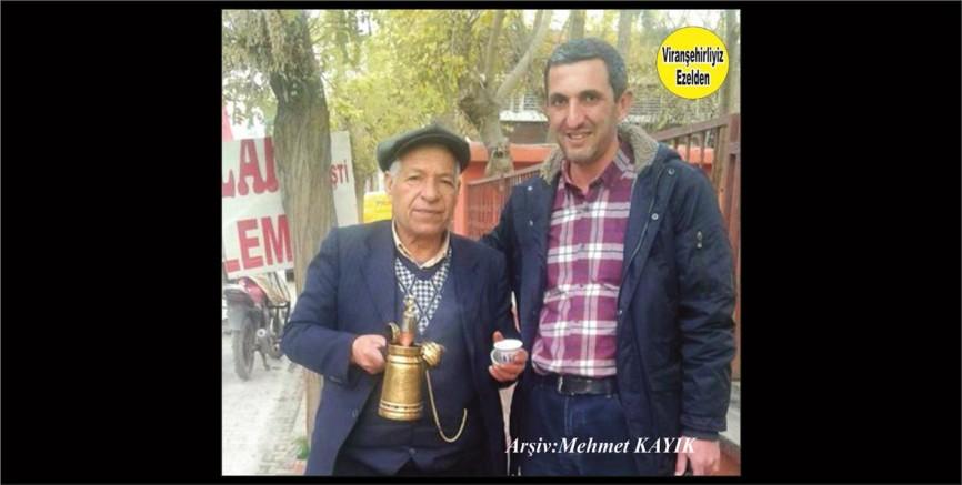 Viranşehir'in Ünlü Mırra kahvecisi Karadayı(Ahmet Barik) ve Şeyhmus Çakar